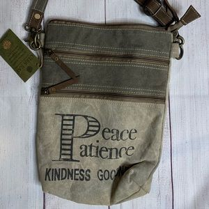 Clea Ray Peace Patience Kindness Goodness Bag